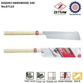 CƯA GỖ CỨNG CHÍNH XÁC DOZUKI HARDWOOD 240 ZETSAW 7123