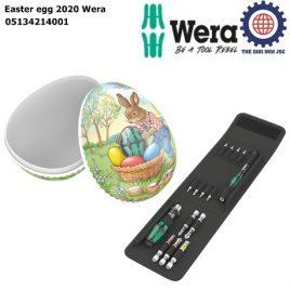 [Phiên Bản Giới Hạn 2020] Bộ dụng cụ Easter egg 2020 Wera gồm 15 cái Wera 05134214001