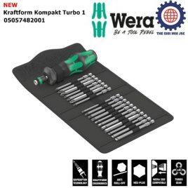 Bộ dụng cụ 19 cái Kraftform Kompakt Turbo 1 Wera 05057482001