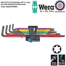Bộ hoa thị Wera dài nhiều màu sắc với chức năng giữ vít 967/9 TX XL Multicolour HF 1 Wera 05024470001