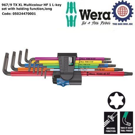 967- 9 TX XL Multicolour HF 1 Wera 05024470001