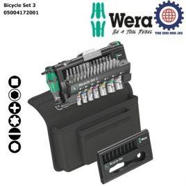 Bộ dụng cụ Bicycle Set 3 ứng sửa xe đạp, xe đạp điện, công việc tự sửa chữa và lắp ráp DIY gồm 39 cái Wera 05004172001