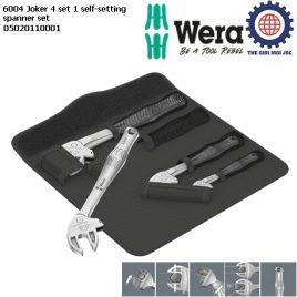 Bộ cờ lê tự điều chỉnh 6004 Joker 4 set 1 self-setting spanner set Wera 05020110001